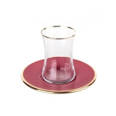 Marianna Mood 12 Parça Çay Seti Kırmızı Kırmızı